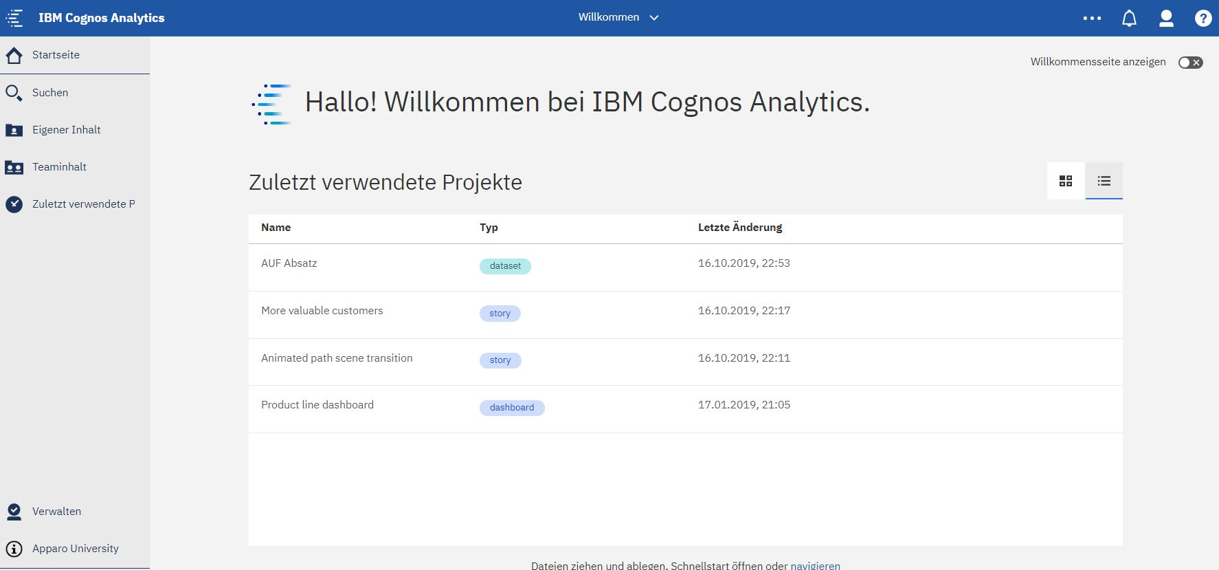 Cognos Analytics 11.1.4 – Download – What's New